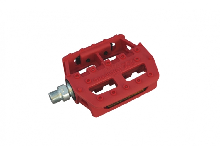 MKS Pedals Grafight-XX Red