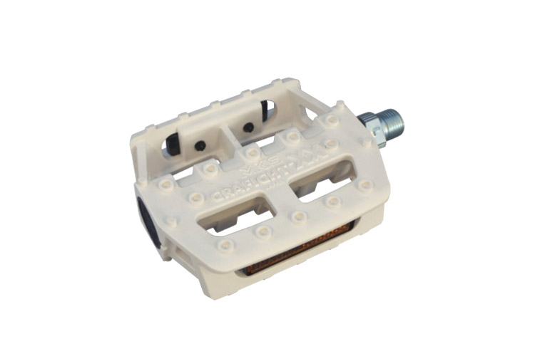 MKS Pedals Grafight-XX White