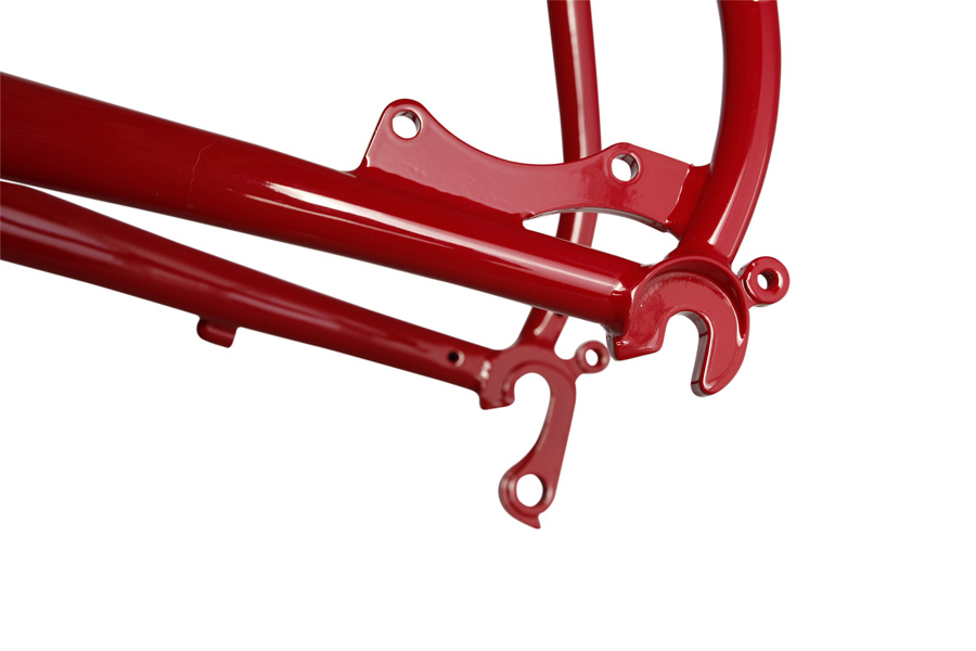 Soma Fog Cutter Frame Red dropout