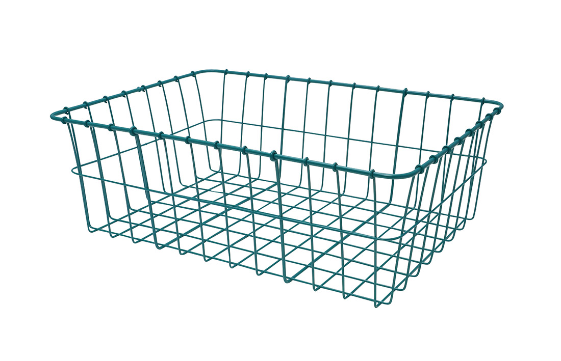 "Wald Basket ONLY 18""X13""X6"" Wald # 42 teal"