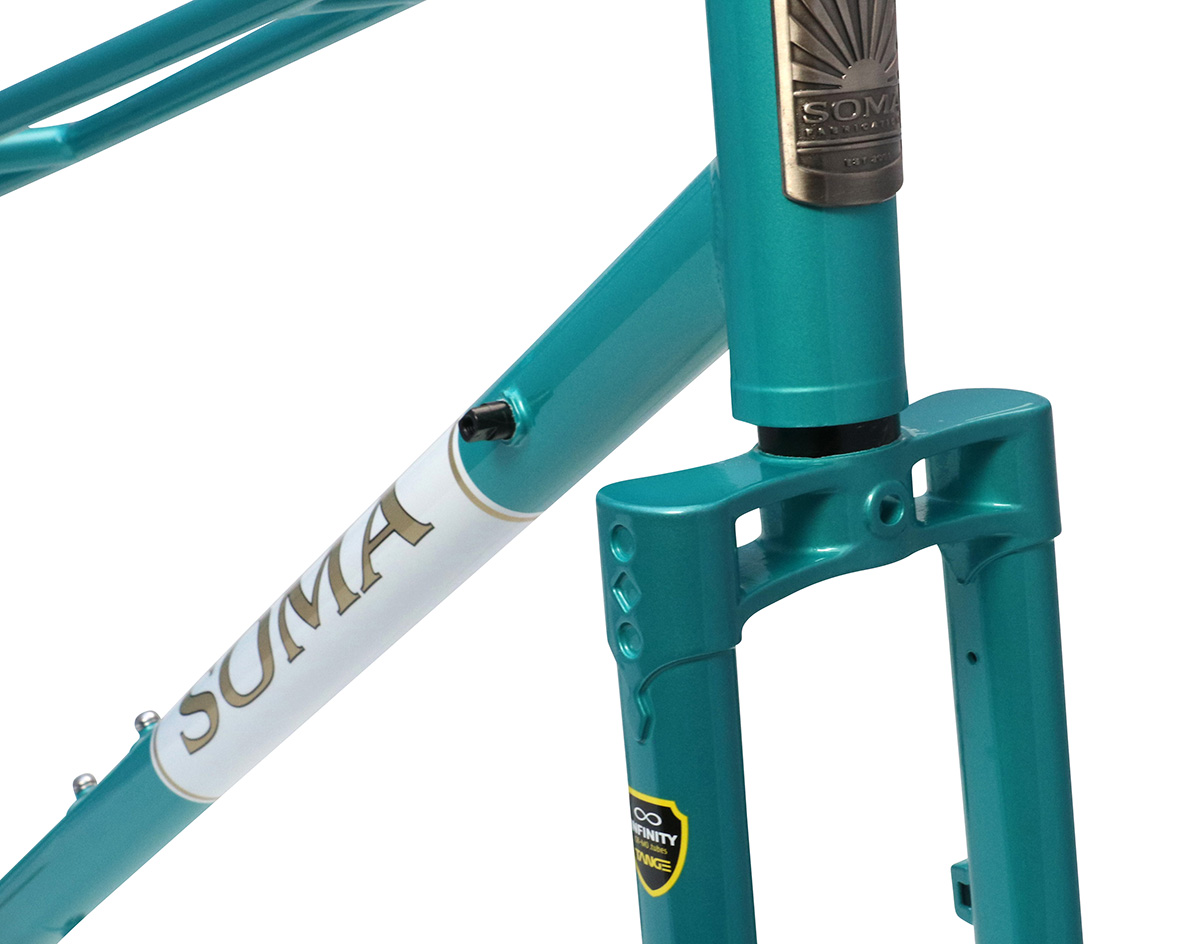 Soma Fork Buena Vista Replacement Teal Metallic
