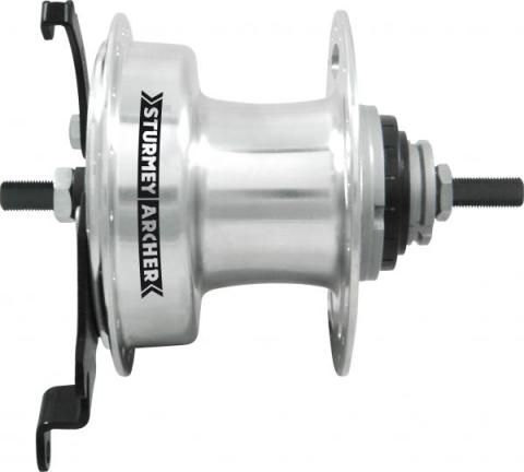 Sturmey Archer Rear Hub XL-RD5 36h 5sp 90mm Drum