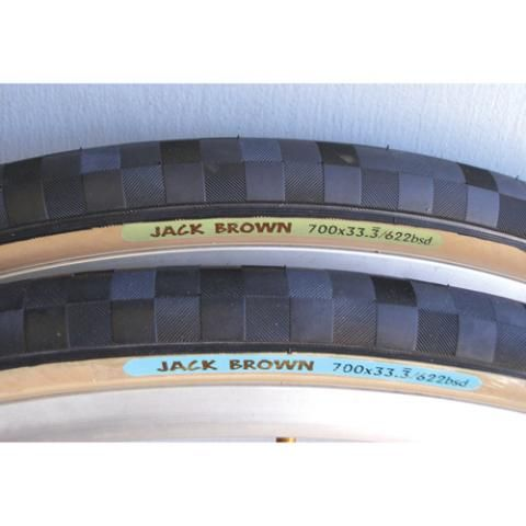 Rivendell Tire JACK BROWN GREEN 700X33.3 KV