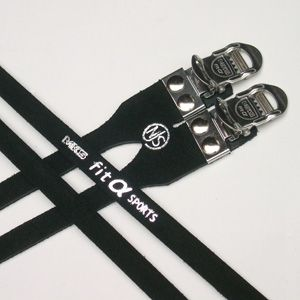 MKS Straps NJS Fit-A Sports Black Double
