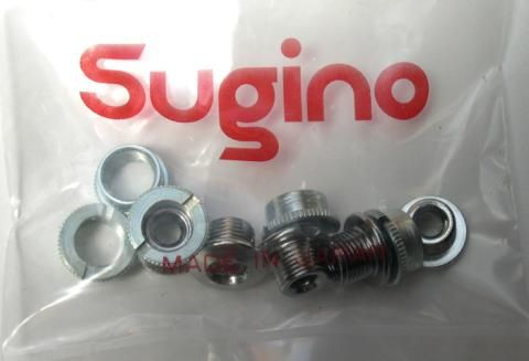 Sugino Chainring Bolts Knurled 5/set