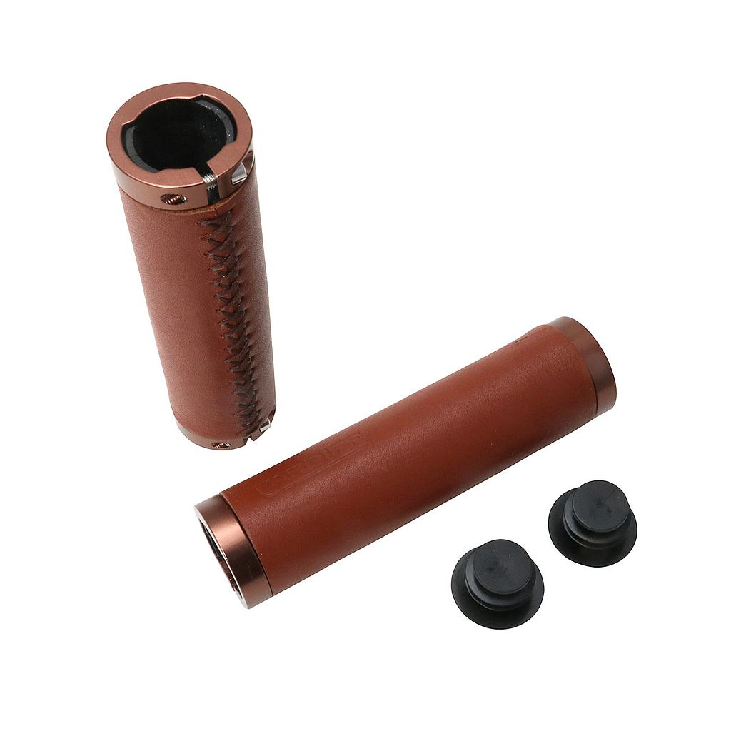 Cardiff Grips Julian Leather Brown