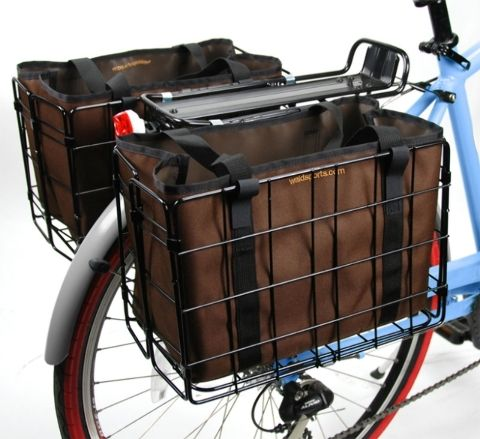 Wald 3558 Folding Basket Liner Brown