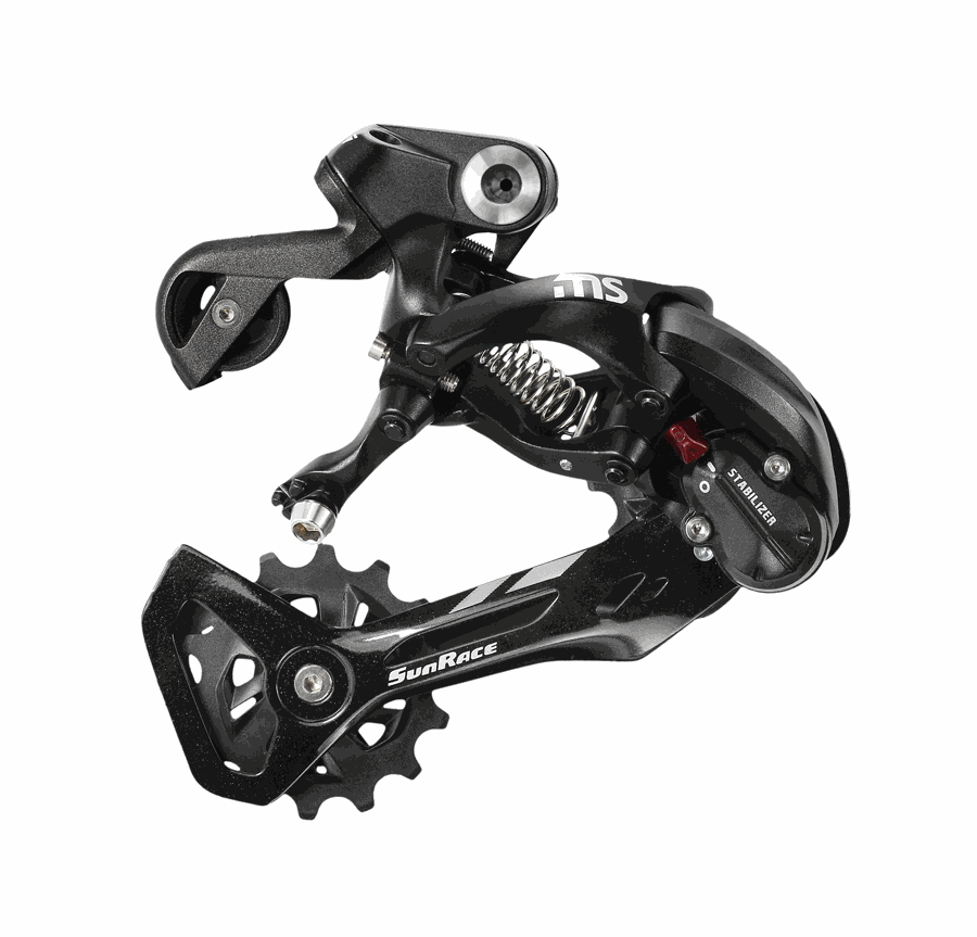 Sunrace Rear Derailleur MS30 12/11/10/9sp Med